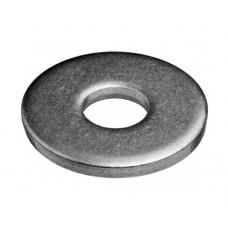 Шайба плоская под заклепки DIN 9021, М16