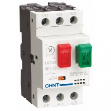 Автомат защиты двигателя ns2-25 6-10A, Chint [495081]