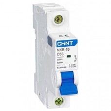 Автоматический выключатель nxb-63 1P C20 6kA, Chint [814015]