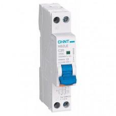 Дифференциальный автомат nb2le 1P+N 4.5kA C20 30mA ac, Chint [689003]
