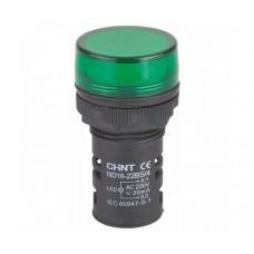 Индикатор nd16-22D/2 ac/dc 24v Зеленый, Chint [592845]