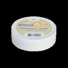 Изолента eco 0,11мм * 18мм/18м белая, Аско [eco0150020021]