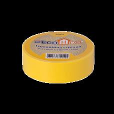 Изолента eco 0,11мм * 18мм/18м желтая, Аско [eco0150020023]