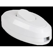 Выключатель 1-клавишный разборный для бра ВБ-01Б белый, иек [evb10-k01-10]
