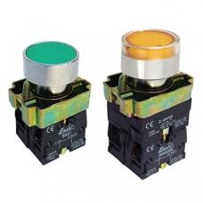 Кнопка ElectrO ВА21 черная 22mm NO + NC (ВА21NONCB)