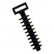 Дюбель пластиковый черный d-10mm (D10B)