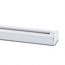 Рельса для трековых светильников Ledmax 1-PHS-1.5MB белая (1-PHS-1.5MB)