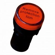 Светосигнальный индикатор ElectrO AD22 LED матрица 22mm красная 48В АС/DC (AD22R48)