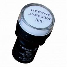 Светосигнальный индикатор ElectrO AD22 LED матрица 22mm белая 230В АС (AD22W230)