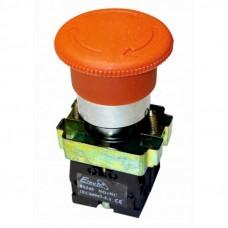 Кнопка-грибок з фиксатором ElectrO ВS542 красная 40mm NO + NC (BS542NONCRF)