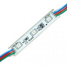 Светодиодный модуль Biom SMD5050 RGB 0,72W IP67 (11712)