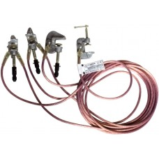 Заземление переносное подстанционное /ЗПП-35/В2-3/1-25Х