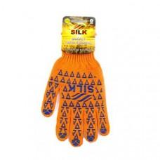 Перчатки трикотажные вязаные с ПВХ-точкой / 050 / увеличена SL