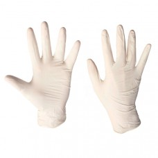 Перчатки латексные тонкие / S-XL /